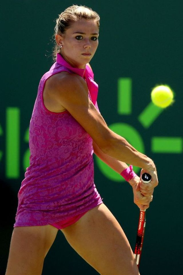 Simona Halep thigh awesome pictures