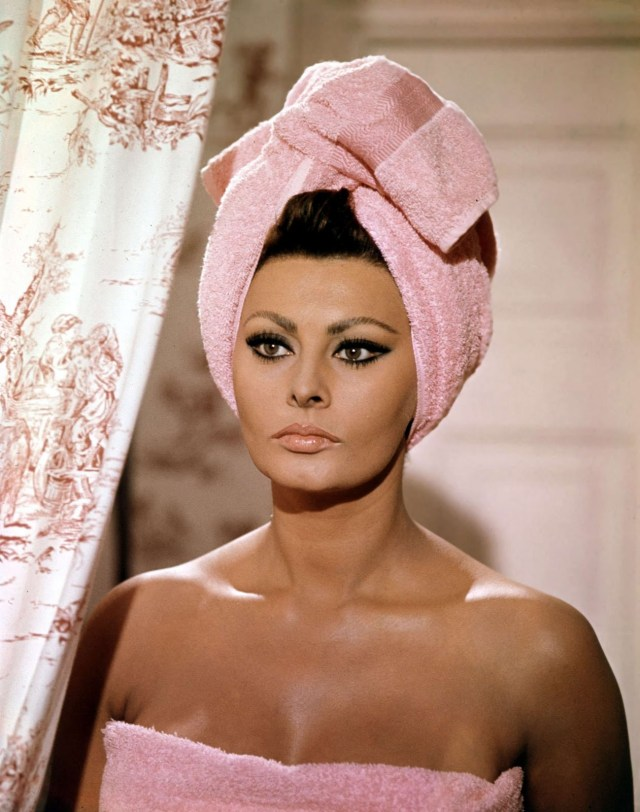 Sophia Loren Bath Dress