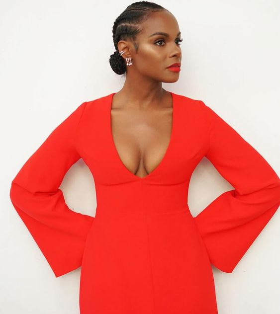 Tika Sumpter Hot in Red