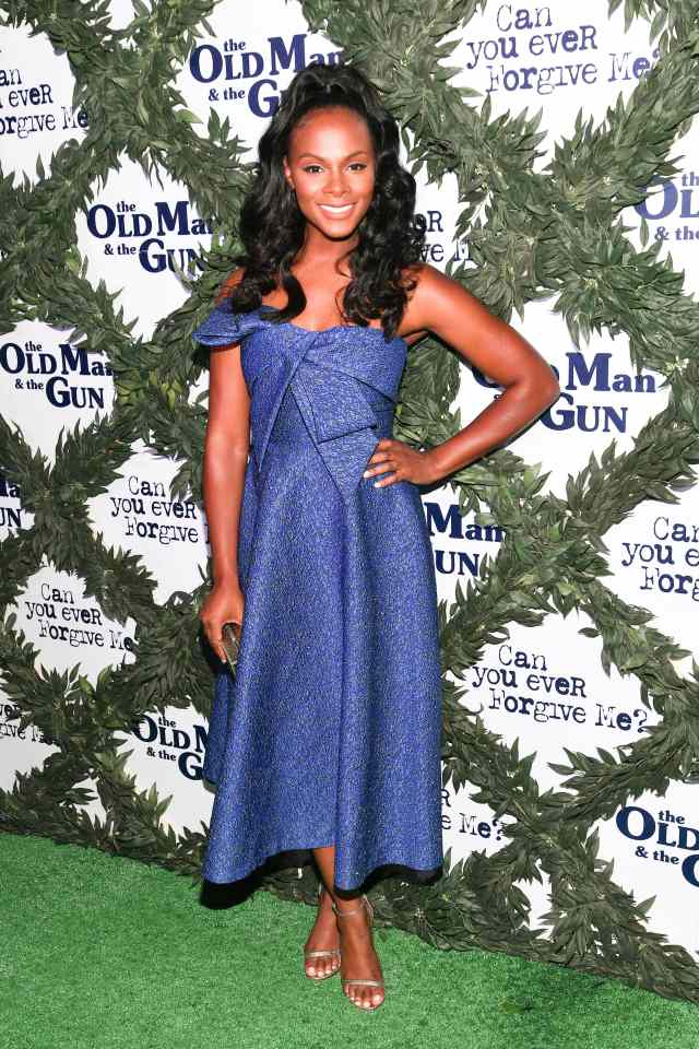 Tika Sumpter on Old Man Gun Show