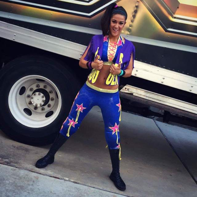 bayley hot blue picture