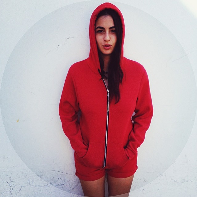 Alanna Masterson winter Clothes