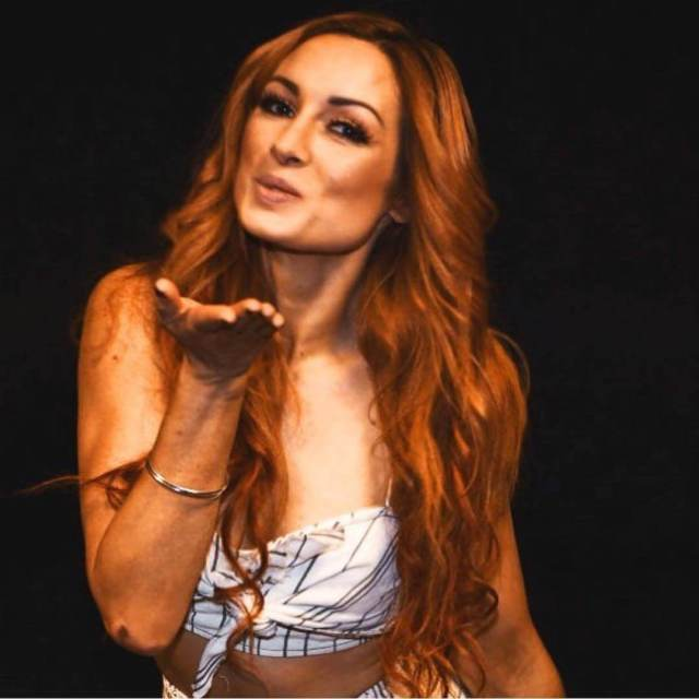 Becky Lynch cleavages awesome pic