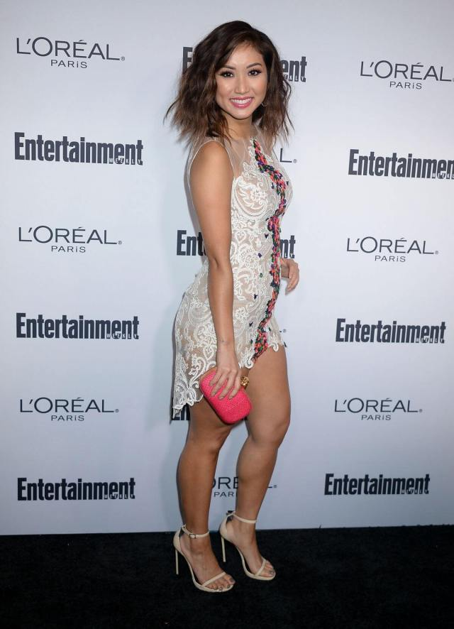 Brenda Song hot side look