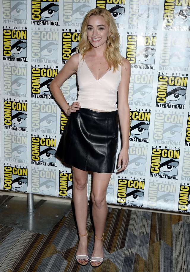 Brianne Howey thighs awesome
