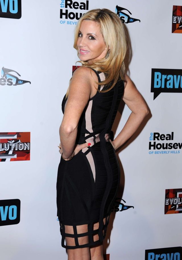 Camille Grammer Sexy Back