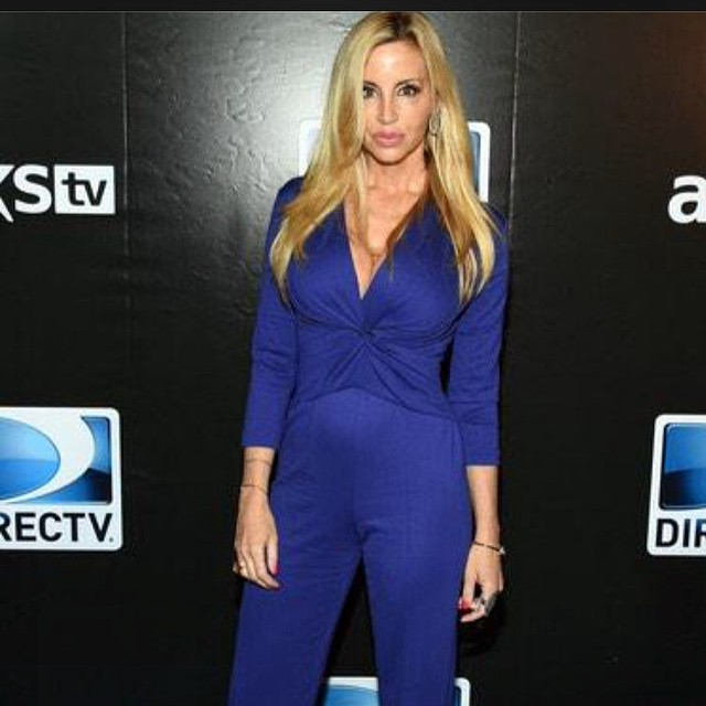 Camille Grammer on Photoshoot