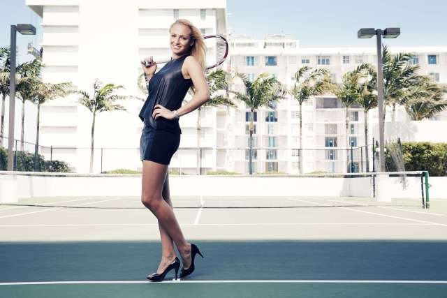 Donna Vekic feet awesome