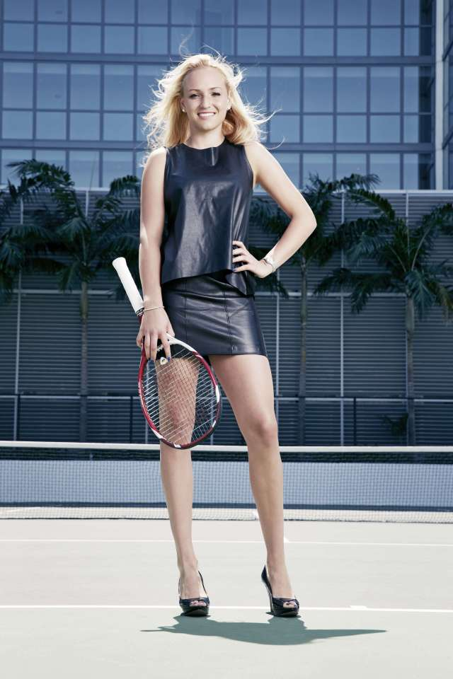 Donna Vekic thighs hot pic