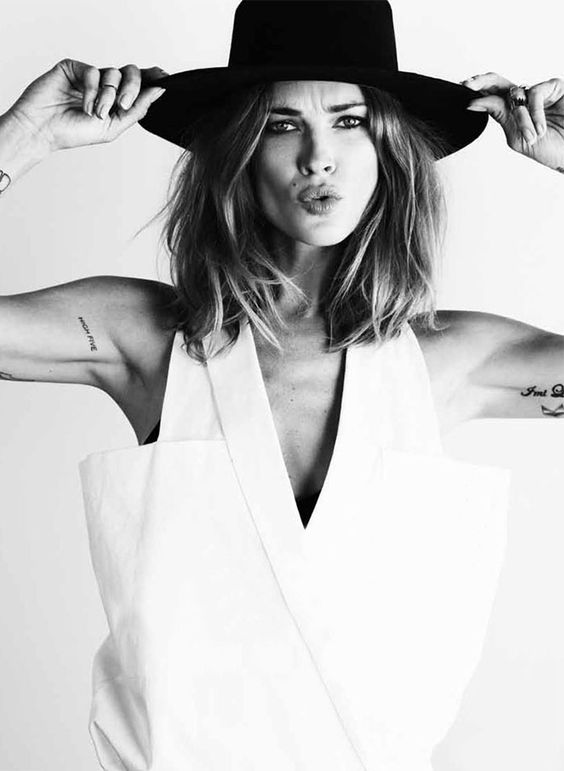 Erin Wasson Hot in Hat