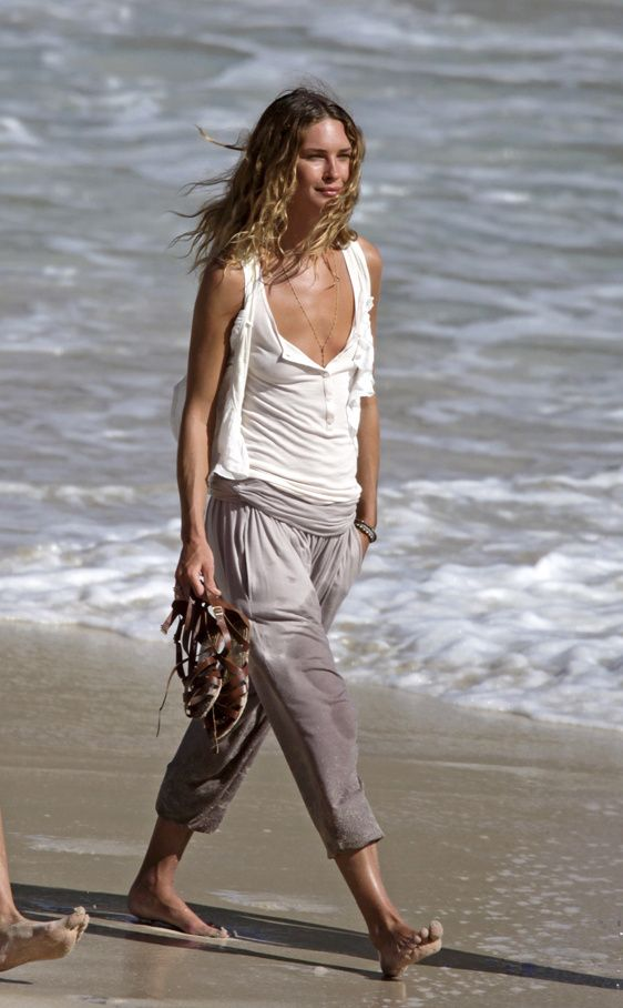 Erin Wasson on Beach