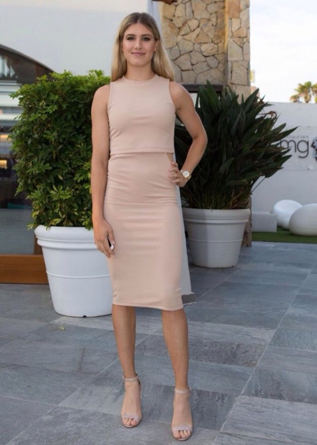 Eugenie Bouchard hot picture