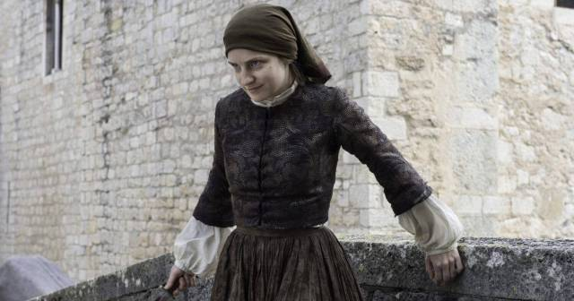 Faye Marsay sexy cleavages