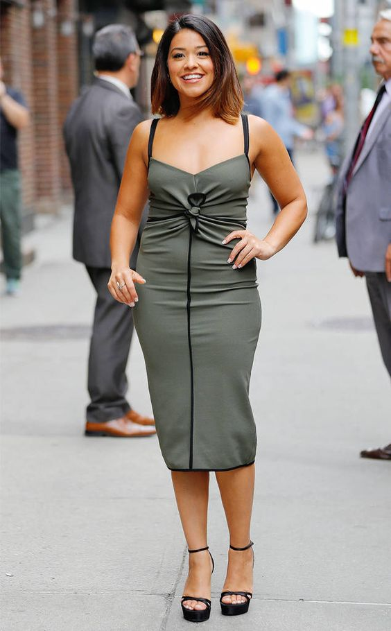 Gina Rodriguez on the Road