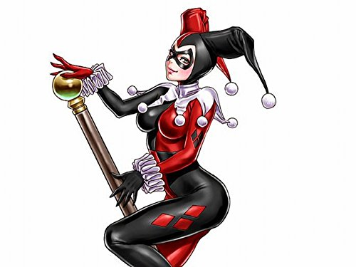 Harley Quinn hot lady picture