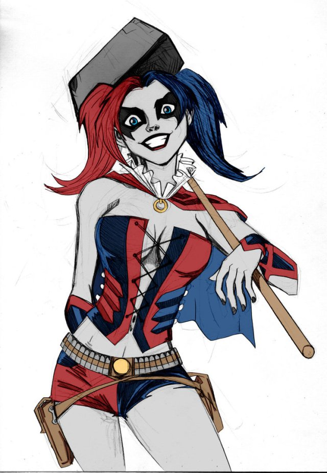 Harley Quinn too sexy picture