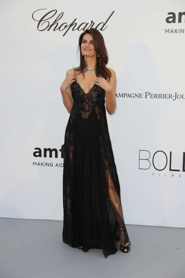 Isabeli Fontana sexy cleavage picture