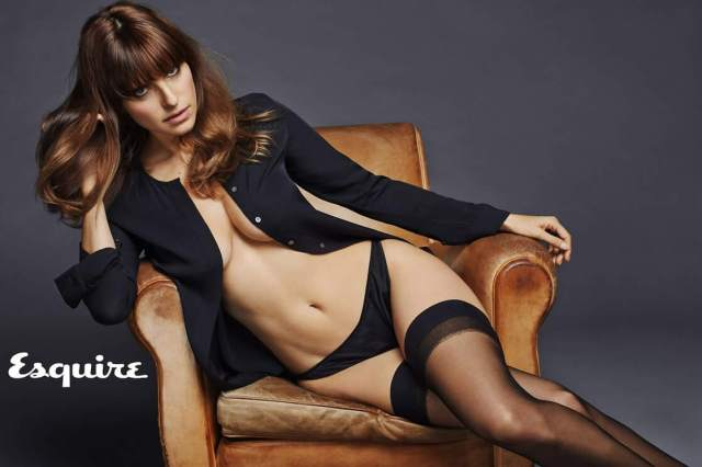 Lake Bell side bobbs sexy