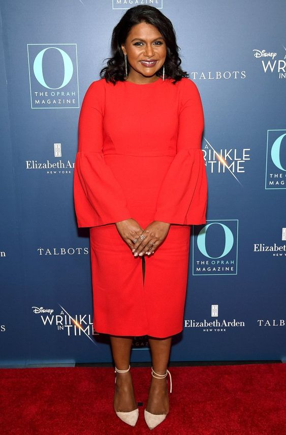 Mindy Kaling Red Carpet