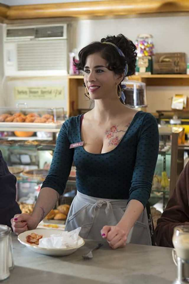 Sarah Silverman awesome cleavages pic