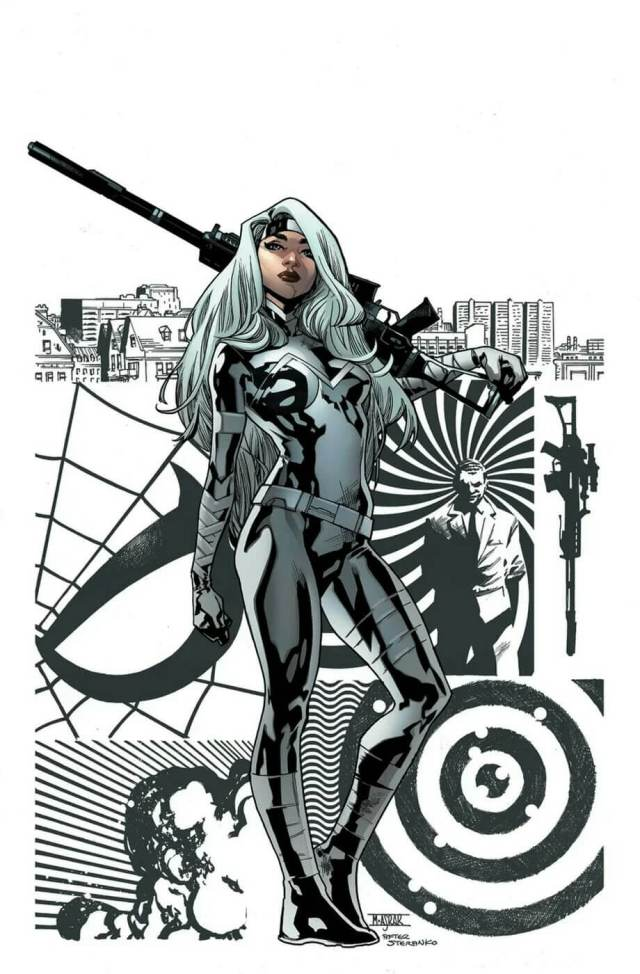 Silver Sable awesome picture