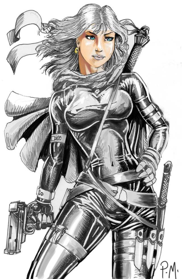 Silver Sable hot look pic