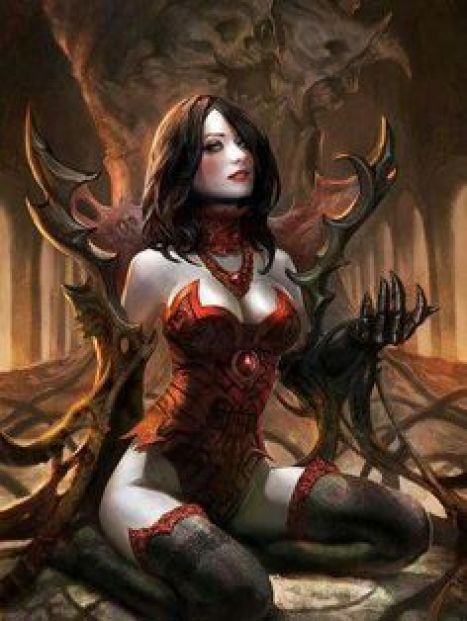 Succubus sexy lady picture