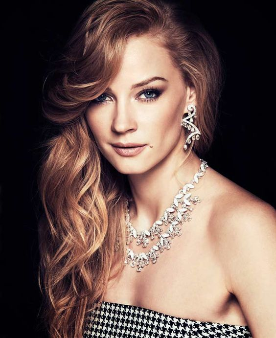 Svetlana Khodchenkova Beautifull Necklace