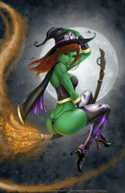 Witch hot women