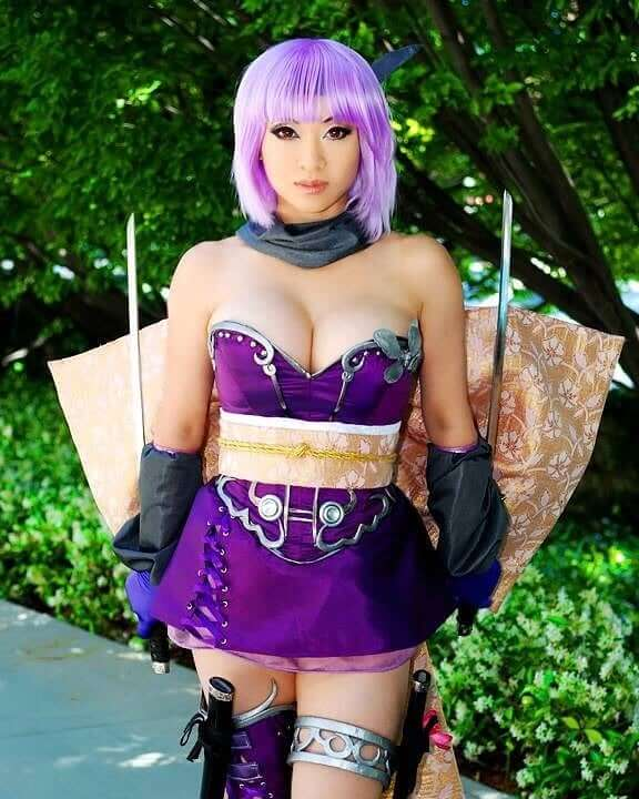 Yaya Han awesome photo