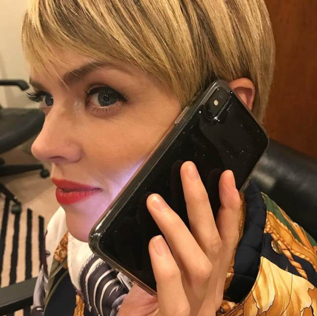 erin richards talking phone