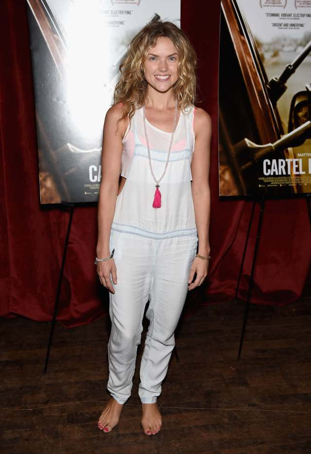 erin richards toes nails
