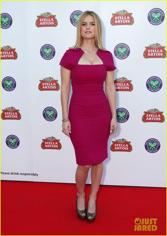 Alice Eve on Red Carpet