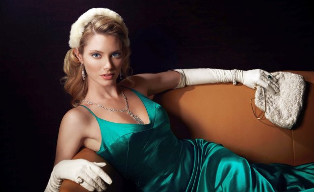 April Bowlby Hot in Green