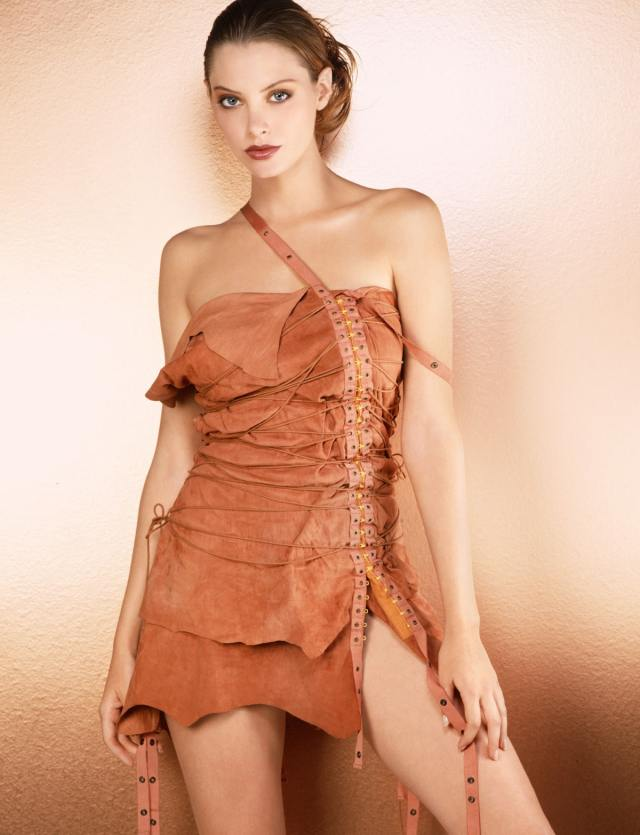 April Bowlby on Photoshoot