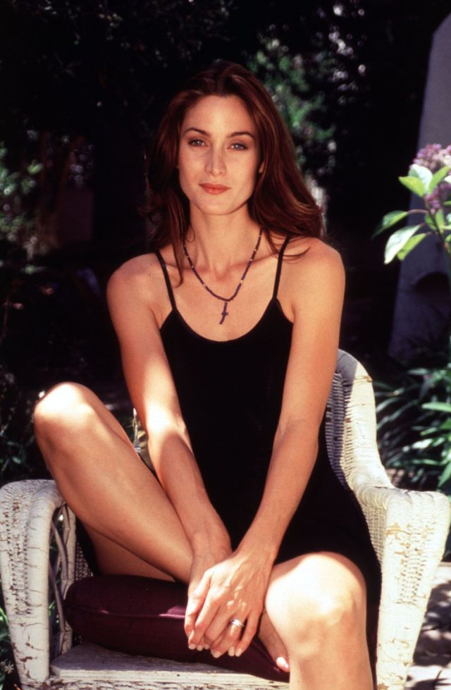 Carrie Anne Moss Hot Look