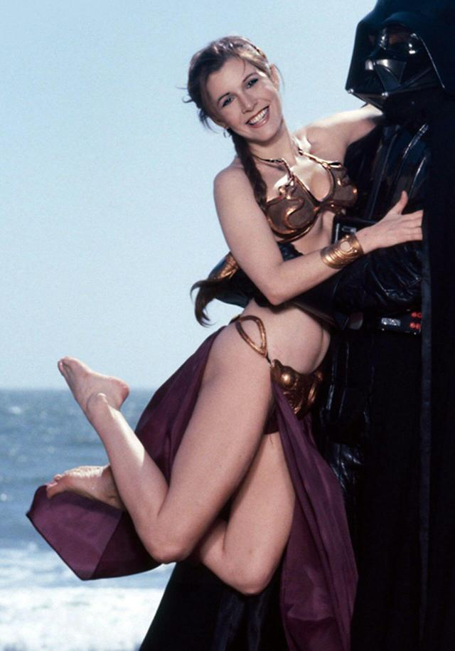 Carrie Fisher HOT THIGHS