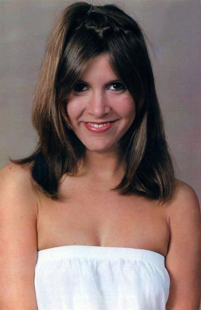 Carrie Fisher SEXY HAIRS