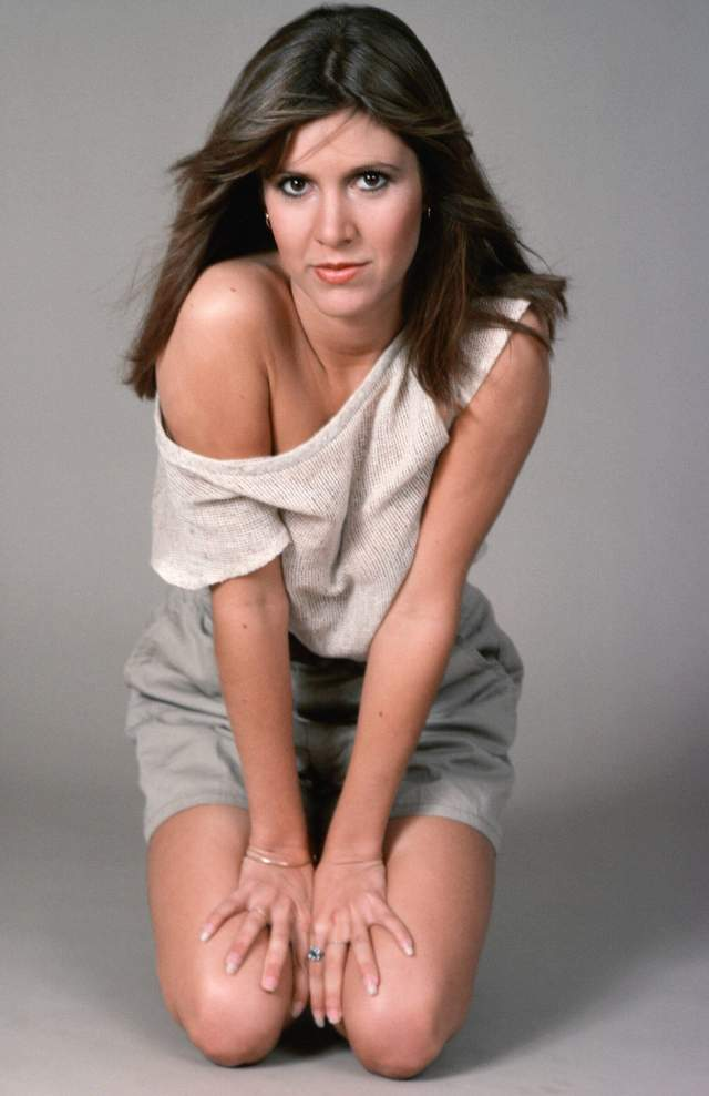 Carrie Fisher SEXY PIC