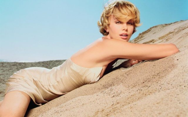 Charlize Theron sexy look