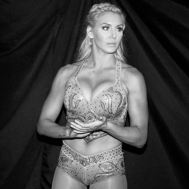 Charlotte Flair awesome cleavages pic
