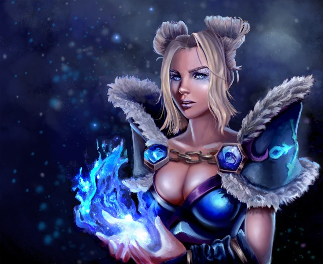 Crystal Maiden Hot fan Arts