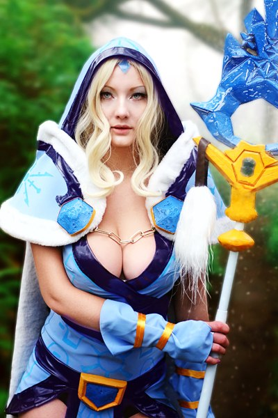 Crystal Maiden Sexy Boobs