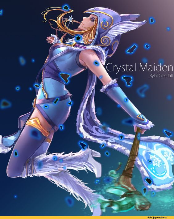 Crystal Maiden Sexy
