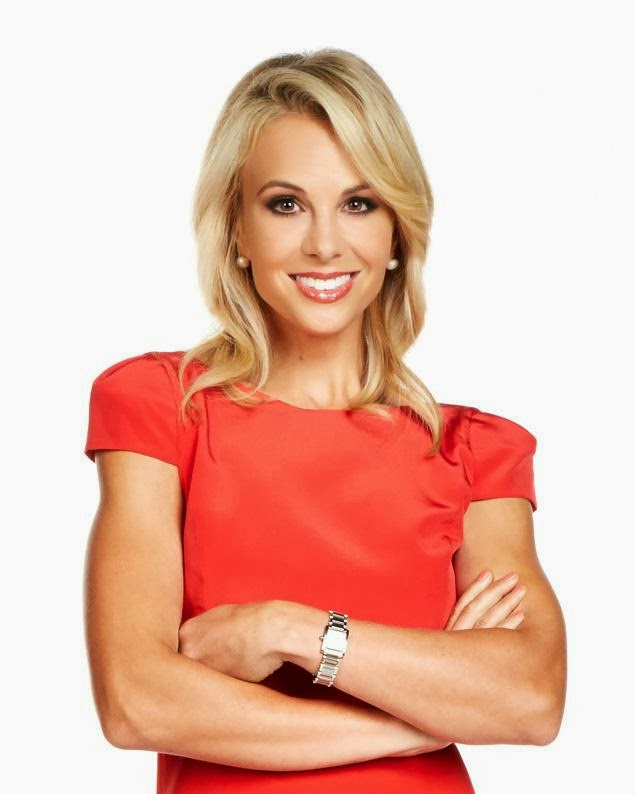 Elisabeth Hasselbeck Hot in Red Dress