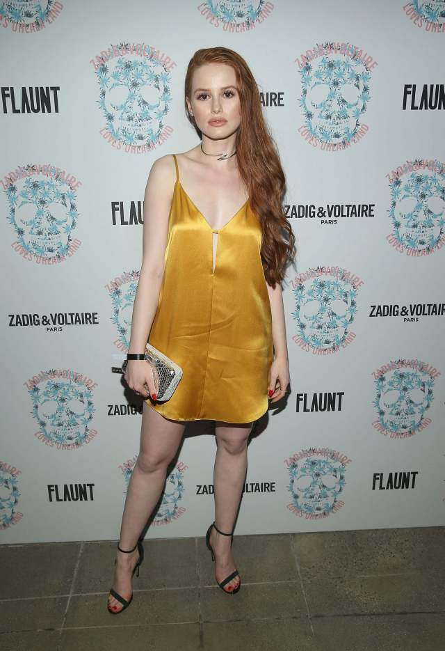 Madelaine Petsch thighs awesome pics