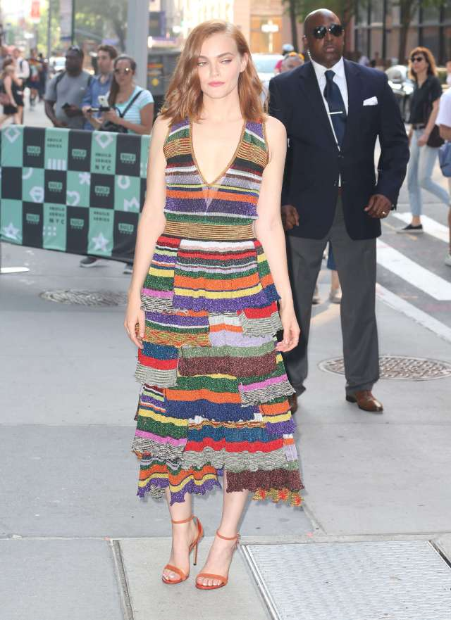 Madeline Brewer long dress pic