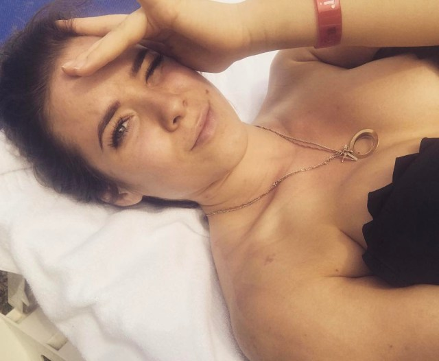 Maria Andrejczyk on Bed
