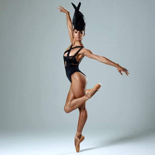 Misty Copeland hot thighs pic
