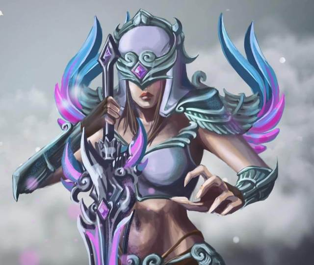 Nemesis Smite sexy busty pictures